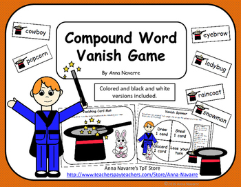 Compound Word Vanish Game