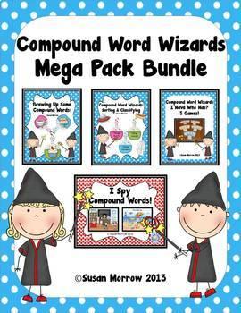 Compound Words Bundle - Huge!