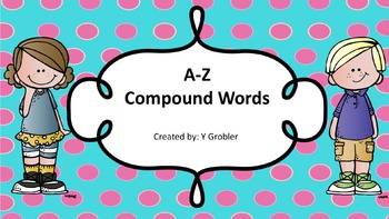Compound Words Activity Cards