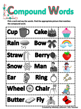 Compound Words: A Vocabulary-Building Activity