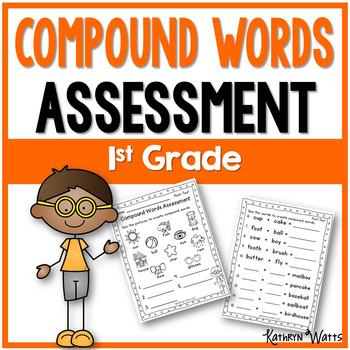 Compound Words Assessment 1st Grade