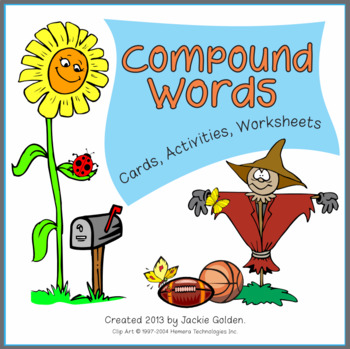Compound Words: Cards, Activities, Worksheets [Phonologica