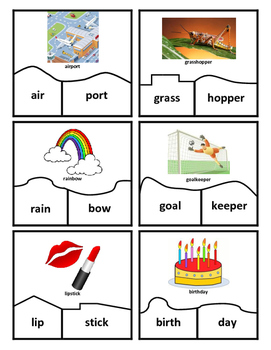 Compound Words - Center