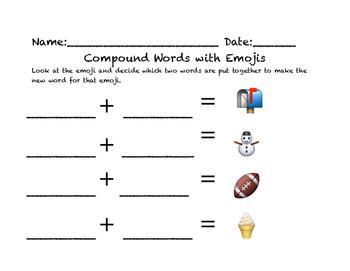 Compound Words Create an Emoji