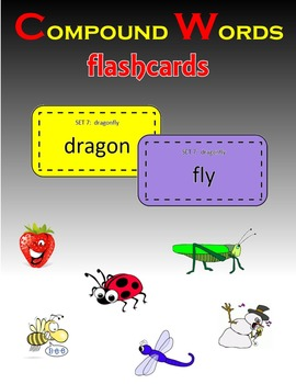 Compound Words:  Flashcards (Memory Match game)