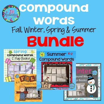 Compound Words Flap Books!  (Bundle)