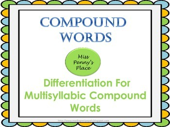 Compound Words For All Levels