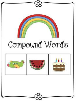 Compound Words Kit - Posters, Flashcards, Practice, and As