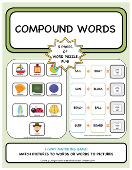 Compound Words {Literacy Activity}