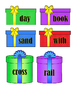 Compound Words - Match Present to Gift Tag