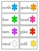 Compound Words--Matching Cards and Worksheets