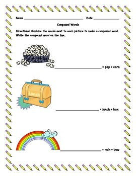 Compound Words Mini Packet