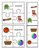 Compound Words Puzzles and Flashcards:  pictures and words
