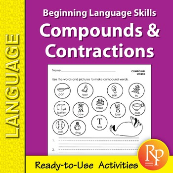 Compounds & Contractions: Beginning Language Skills