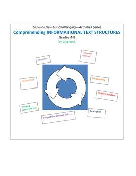 Comprehending INFORMATIONAL TEXT STRUCTURES