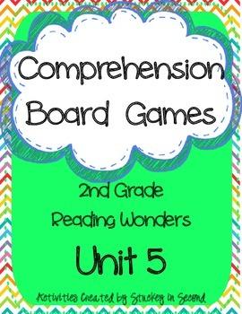 Reading Wonders Grade 2 Unit 5 Comprehension Board Games