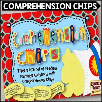 Comprehension Strategy Chips - Fun with Reading Response Q