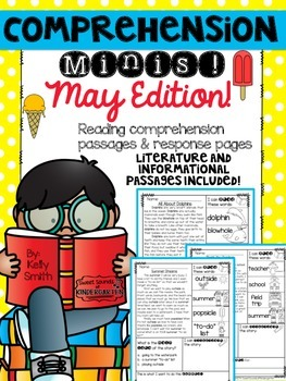 May Reading Passages {Comprehension Minis}