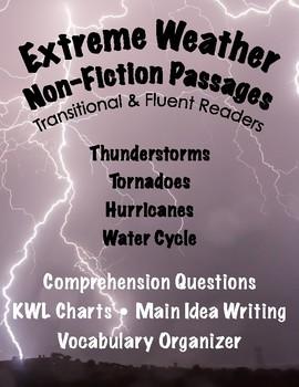 Nonfiction Comprehension Passages: Weather (Close Reading)