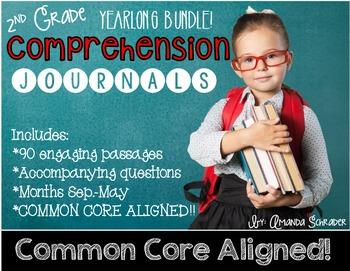 Comprehension Passages: YEARLONG BUNDLE!! (No PREP)