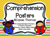Comprehension Posters {3 Designs + 4 Poetry Posters}