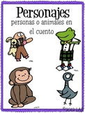 Comprehension Posters- {Spanish Version}