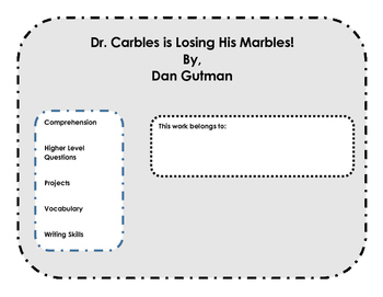 Comprehension & Projects: Dr. Carbles is Losing His Marble