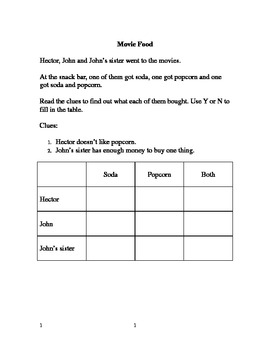 Reading Comprehension Puzzle Pack
