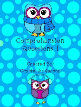 Comprehension Questions 1 - Owl Theme