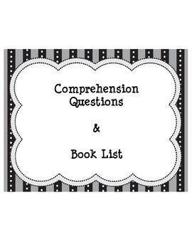 Comprehension Questions for 24 Books!!!!! GRL D-L