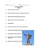 Comprehension Questions for Alexander the Great History Ch