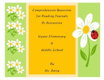 Comprehension Questions for Journals or Discussion