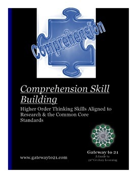 Comprehension Skill Building: Research-Based and Common Co