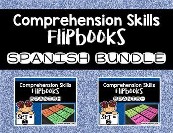 Comprehension Skills Flipbooks BUNDLE {SPANISH}