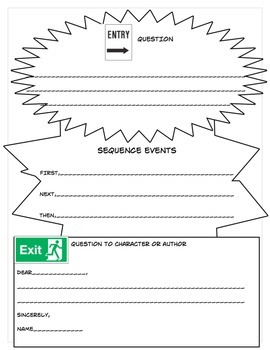 Comprehension Skills Focus and Entry/Exit Slips