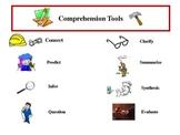 Comprehension Strategies Bookmark