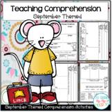 Comprehension Strategies with Favorite September Literature!