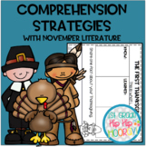 Teaching Comprehension Strategies with favorite November L