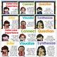 Chevron Rainbow Reading Comprehension Strategy Posters, ELA