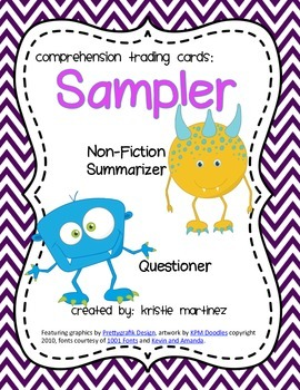 Monster Strategies {Sampler} - Collect Them All!