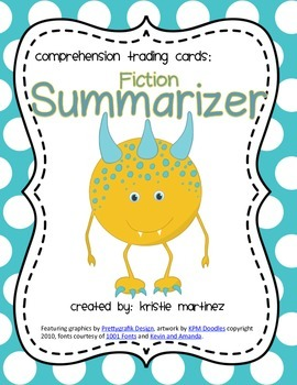 Monster Strategies {Fiction Summarizing} - Collect Them All!