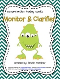 Monster Strategies {Monitoring & Clarifying} - Collect Them All!