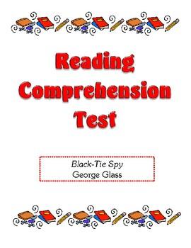 Comprehension Test - Black-Tie Spy (Glass)