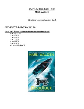 Comprehension Test - HIVE: Deadlock (Walden)