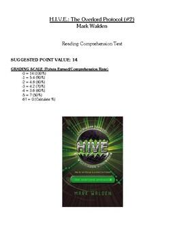 Comprehension Test - H.I.V.E.: The Overlord Protocol (Walden)