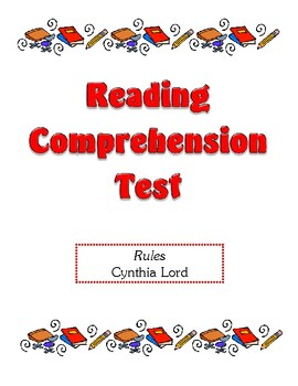 Comprehension Test - Rules (Lord)