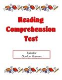 Comprehension Test - Swindle (Korman)