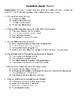 Comprehension Test - The Battle for Skandia (Flanagan)