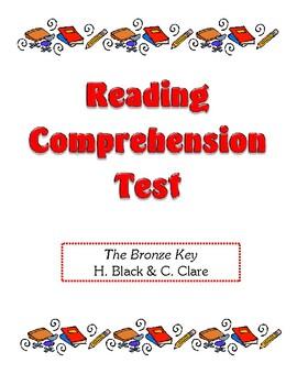Comprehension Test - The Bronze Key (Black/Clare)