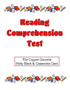 Comprehension Test - The Copper Gauntlet (Black/Clare)